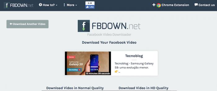 Como fazer download de vídeos no Facebook –