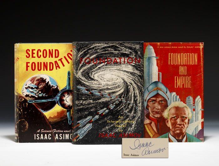 Primeiras edições dos livros (foto: Bauman Rare Books)