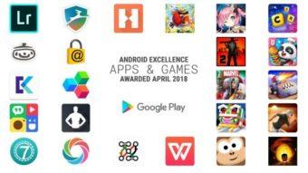 Google divulga nova lista dos apps e games com selo Android Excellence