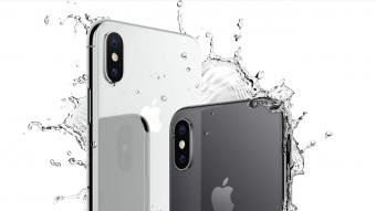 iPhone X é à prova d'água?