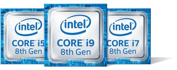 Intel Core de oitava geração