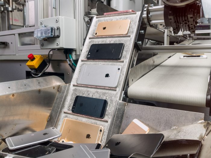 Daisy - reciclagem de iPhone