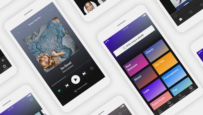 Novo Spotify