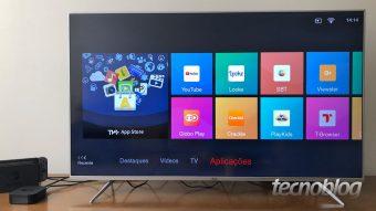 TCL P6US: uma TV com 4K, HDR e sistema basicão