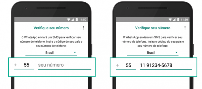 O que fazer quando o código do WhatsApp não chega? (Imagem: Divulgação / WhatsApp)