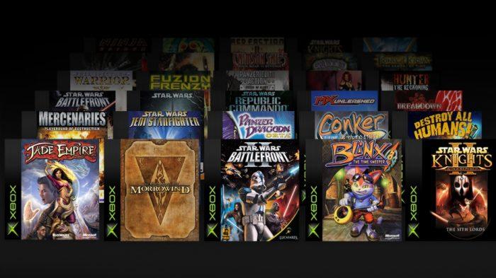 A lista dos jogos que terão melhorias específicas para o
