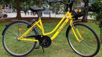 Como funciona o aluguel de bicicletas e patinetes da Yellow