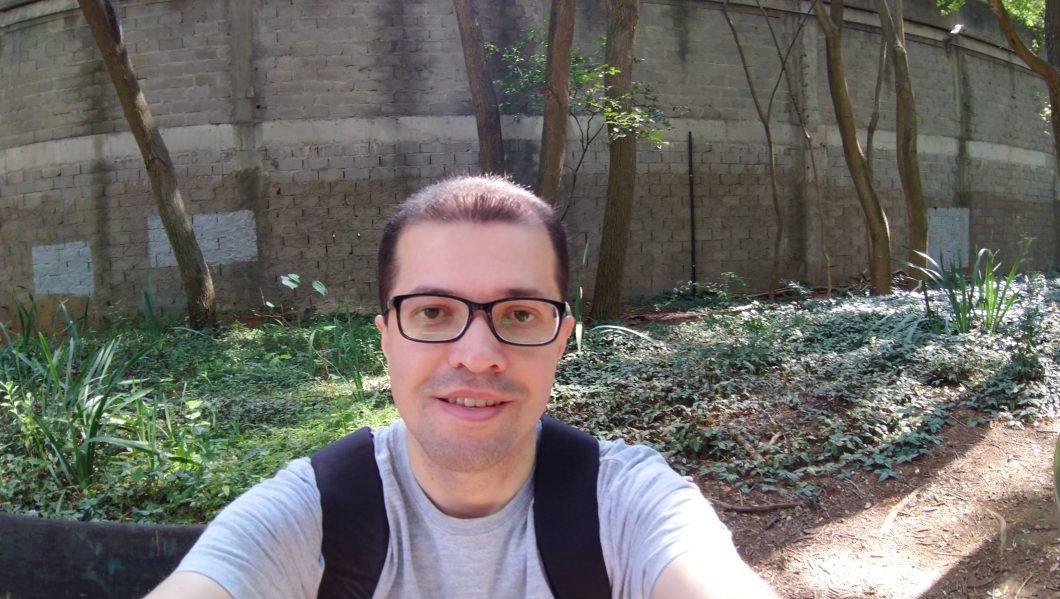 Selfie com a segunda câmera
