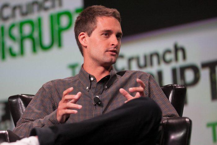 Evan Spiegel (Imagem: TechCrunch)