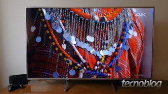 TV Panasonic EX750B: imagens suaves como manteiga