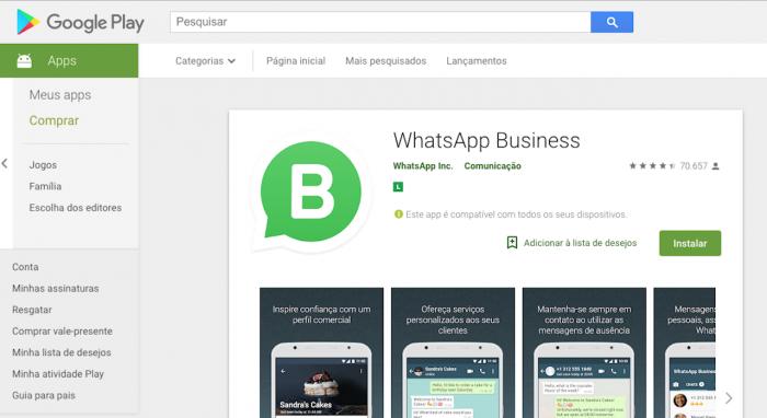 Whatsapp Business Saiba Como Funciona O Aplicativo Tecnoblog
