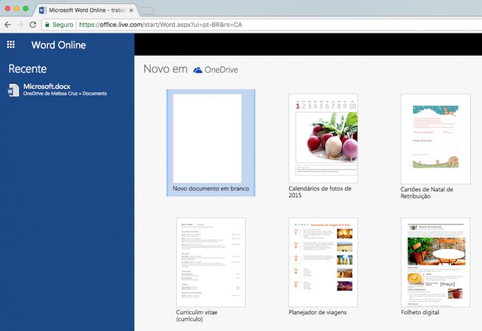 Word Online: porquê ortografar arquivos sem instalar zero 1