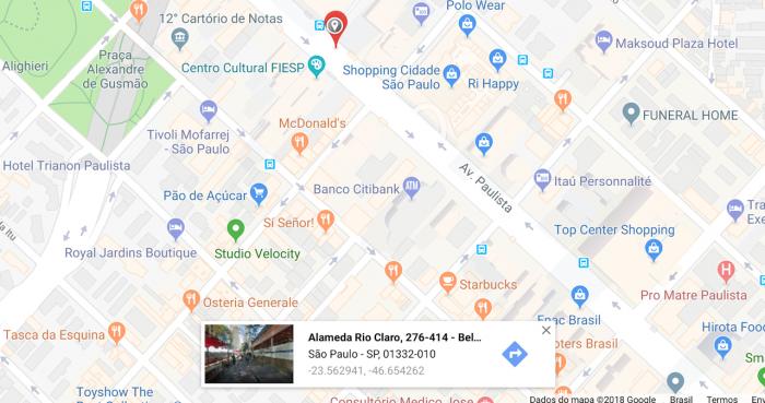 Uso de coordenadas en Google Maps 2