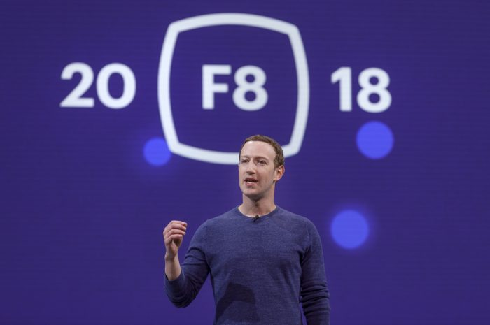 Mark Zuckerberg bei F8 2018