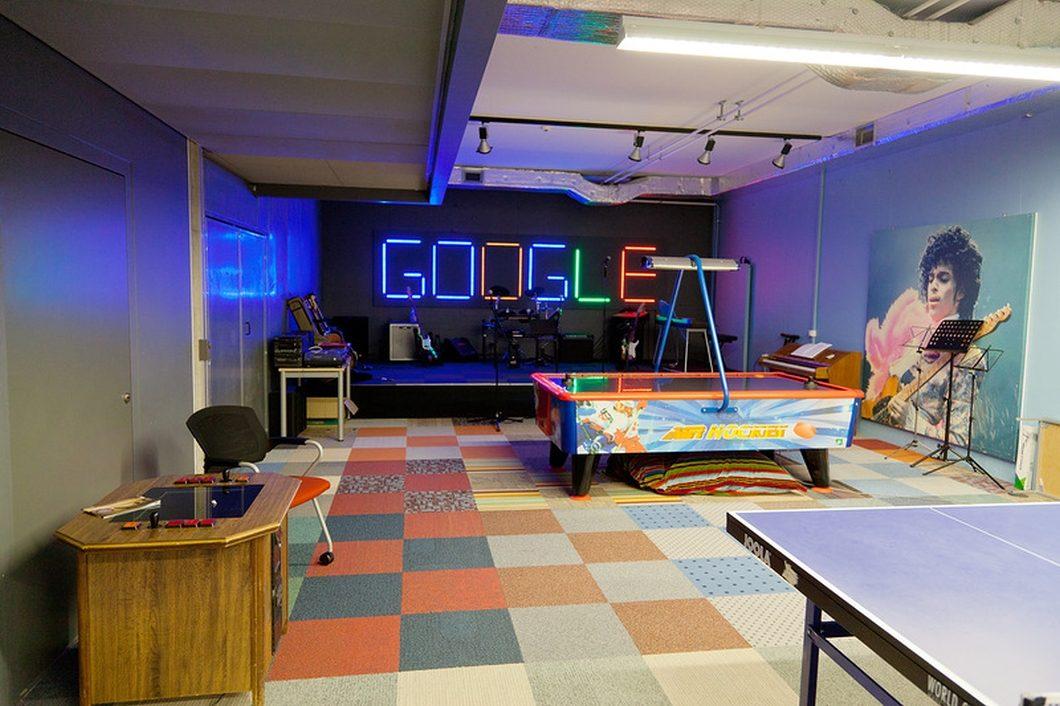 Sala de jogos do Google na Suíça