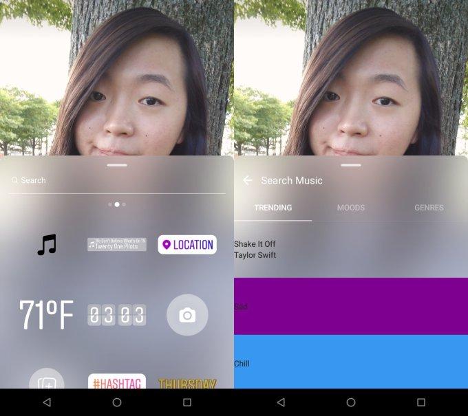 Instagram Stories prepara opção para adicionar músicas às suas fotos