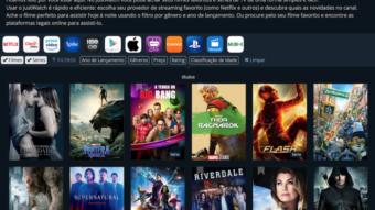 Como comparar o catálogo da Netflix, Amazon Prime Video, HBO Go, Crackle, Google Play e outros