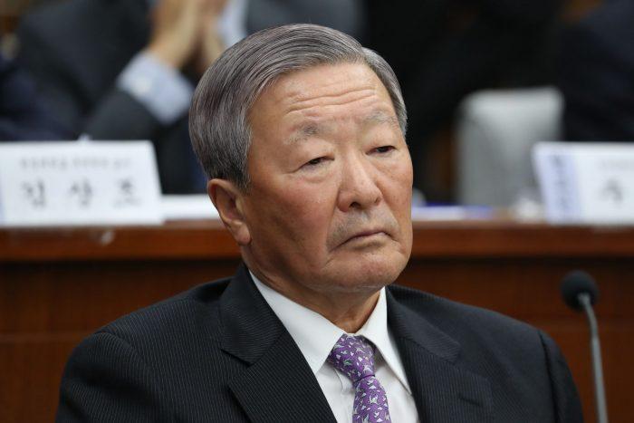 Koo Bon-moo, presidente da LG (Foto: Bloomberg)