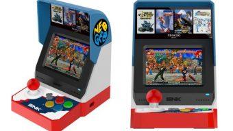 Neo Geo Mini é um fliperama em miniatura com 40 jogos clássicos