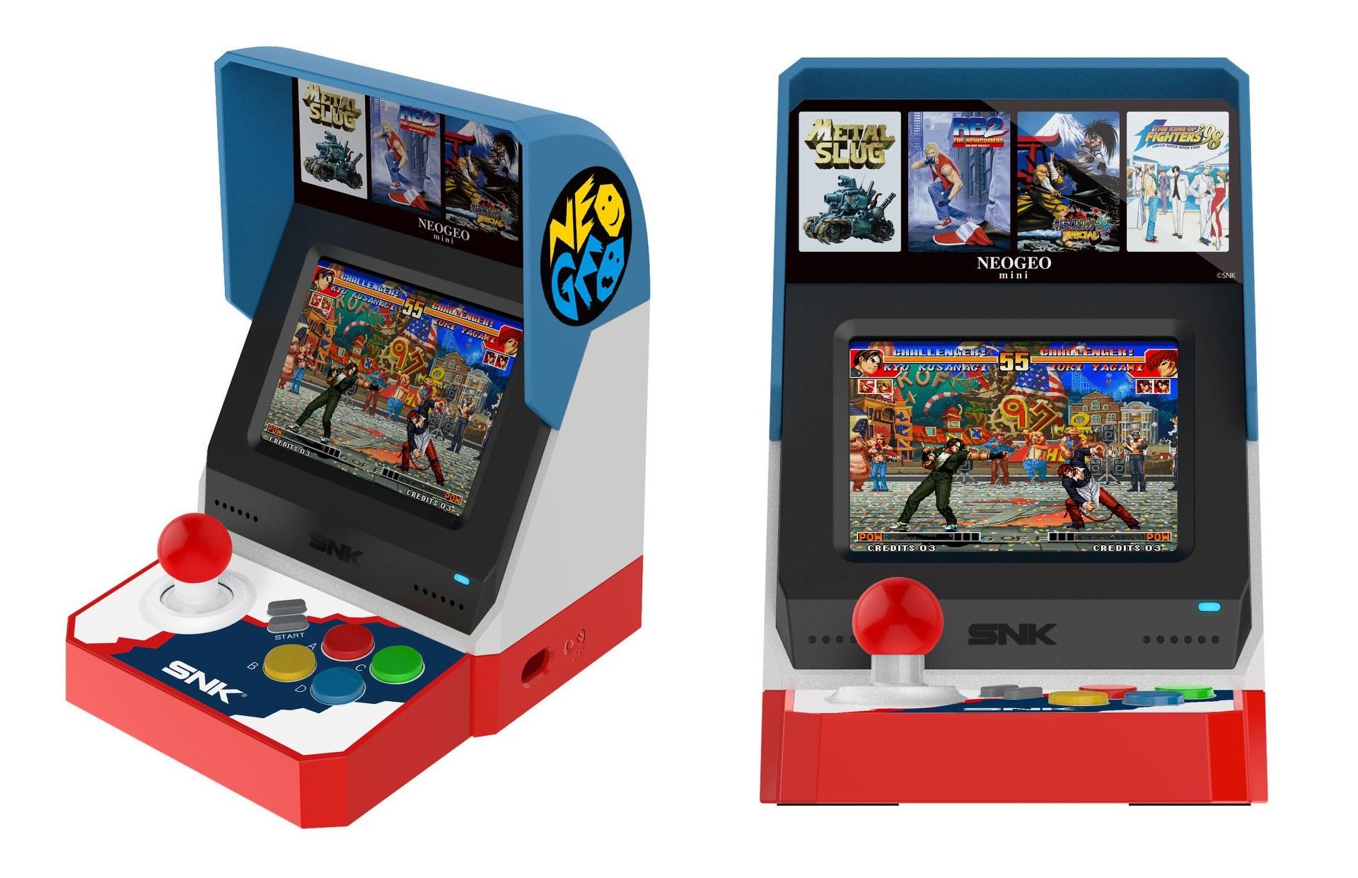 Neo Geo Mini é um fliperama em miniatura com 40 jogos clássicos | Jogos |  Tecnoblog
