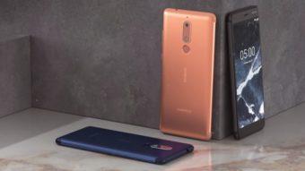 Nokia 5.1 e 3.1 têm preços acessíveis e atualizações garantidas do Android
