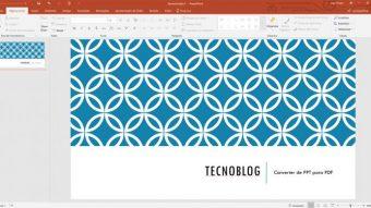Como converter arquivos do PowerPoint (PPT) em PDF
