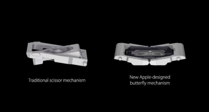 Teclado borboleta (Imagem: Divulgação/Apple)