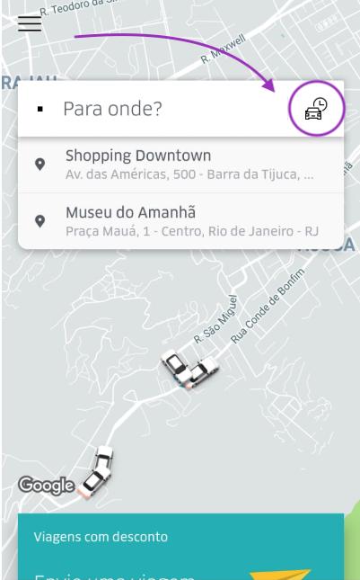 Agendar Uber