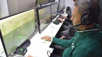 A tecnologia do árbitro de vídeo usada nos jogos da Copa do Mundo na Rússia