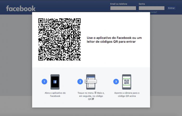 Codigo QR Facebook