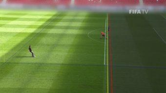 FIFA testa inteligência artificial em impedimentos marcados pelo VAR