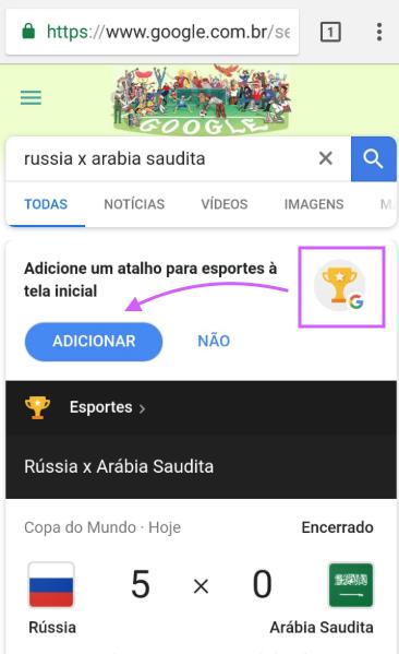 Google Esportes