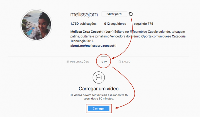 IGTV Web Instagram