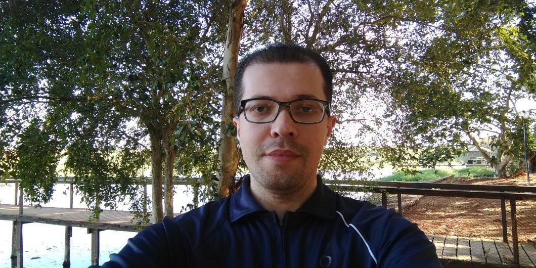 Selfie registrada com o Moto Z3 Play