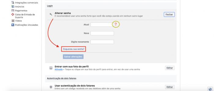 Como recuperar a senha do Facebook – Tecnoblog 453d2c00b28