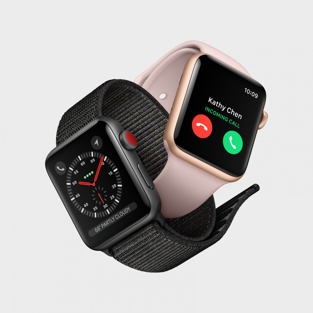 Eche un vistazo de cerca al Apple Watch Series 3 con 4G 1