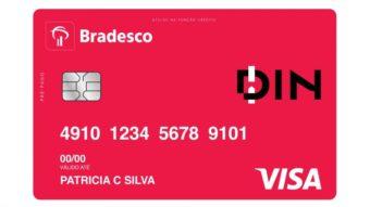 Bradesco lança cartão pré-pago que pode ser solicitado via aplicativo