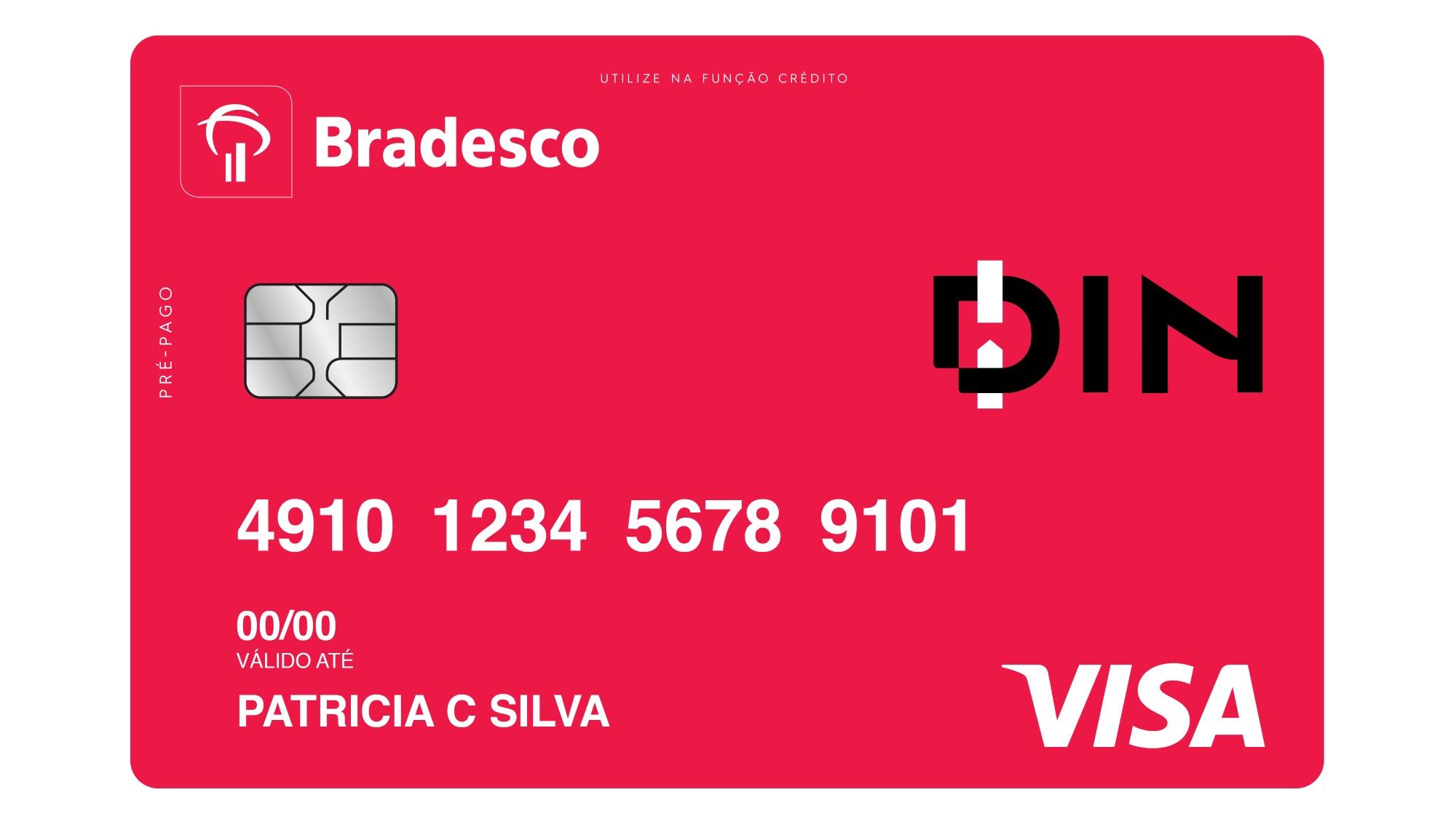 Bradesco lança cartão pré-pago que pode ser solicitado via aplicativo |  Negócios | Tecnoblog