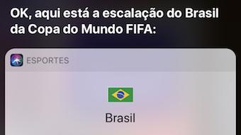 Como acompanhar os jogos do Brasil na Copa do Mundo no iPhone