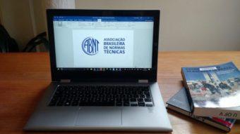 Como fazer a capa de um trabalho nas normas ABNT