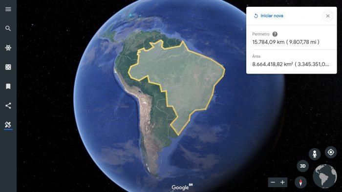 Google Earth: como medir áreas e distâncias no mapa - Tecnoblog