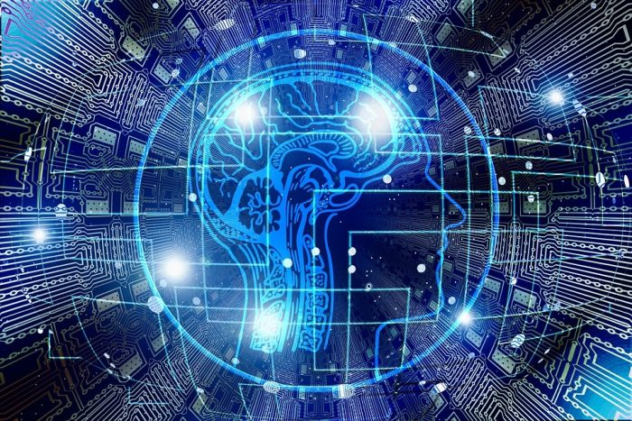 Inteligência artificial - ilustração