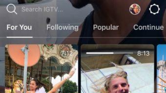Instagram lança IGTV com vídeos de até uma hora e chega a um bilhão de usuários