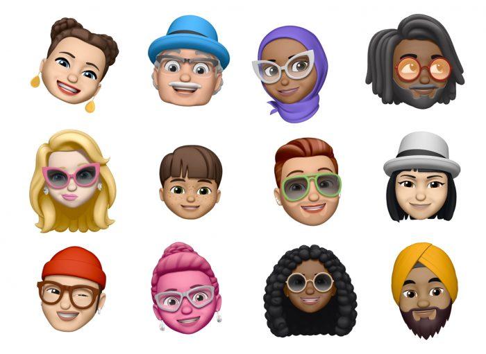 Memojis da Apple (Imagem: Divulgação/Apple)