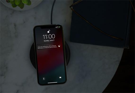 iOS 12 Bedtime