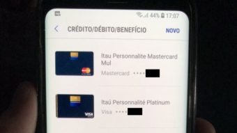 Samsung Pay já aceita cartões de crédito do Itaú para alguns clientes