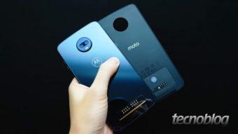 Moto Z4 pode ter processador Snapdragon 8150 e módulo 5G