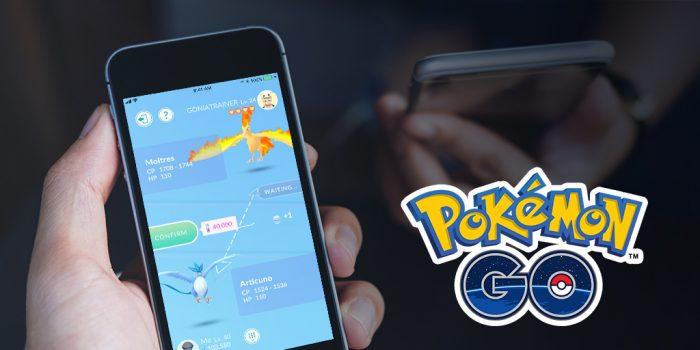 trocas em pokemon go