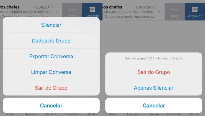 Como Sair E Excluir Um Grupo Do Whatsapp Que Você Criou Ou Participa