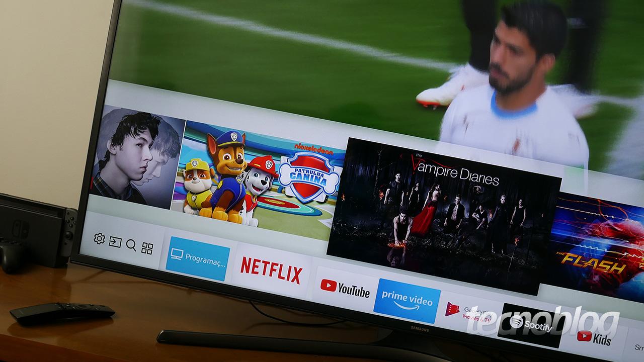 c50535ae2 Review TV Samsung MU6100  a 4K acessível que não decepciona  análise ...